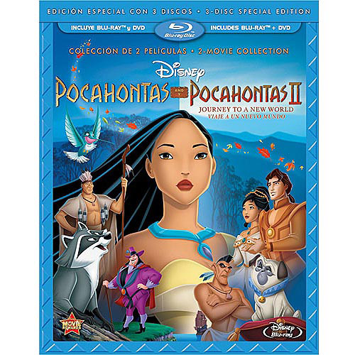 Pocahontas / Pocahontas II: Journey To A New World: Special Edition (Blu-ray + 2-Disc DVD) (Spanish Language Packaging) (Widescreen)