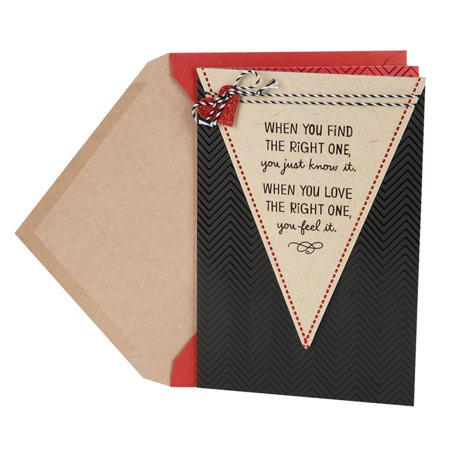 Hallmark Valentine's Day Card for Significant Other (Chevron One and Only) (Valentine Day Card Ideas)