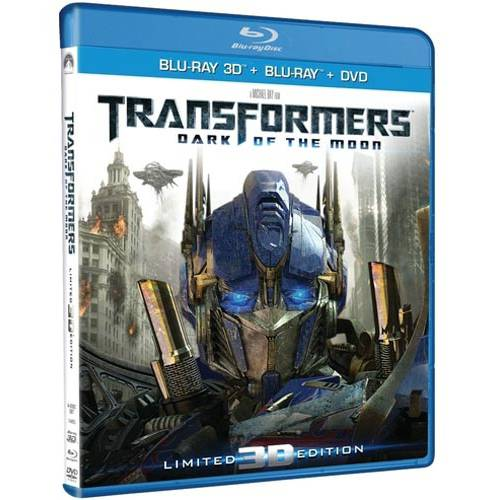 Transformers: Dark Of The Moon (3D Blu-ray   Blu-ray   DVD) (With INSTAWATCH) (Widescreen)