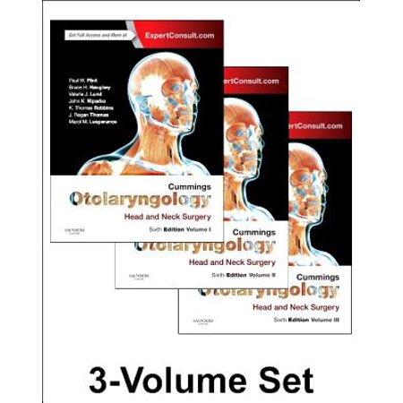 Cummings Otolaryngology : Head and Neck Surgery, 3-Volume
