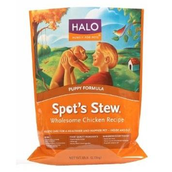Halo Chicken Puppy Food (6x3lb) by Halo