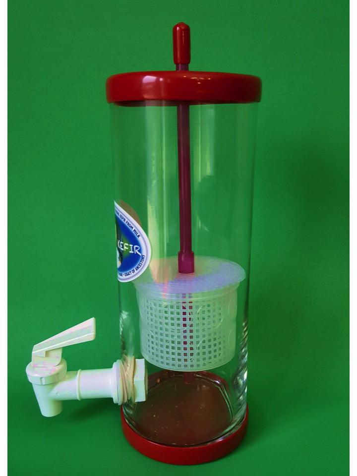Milk Kefir & Water Kefir Fermenter Curd & Whey Separator Soft Cheese Maker Universal by