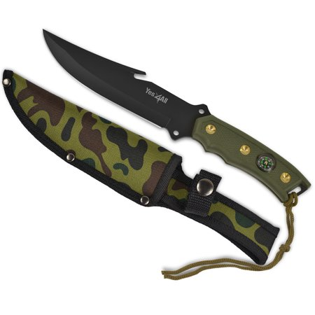 - Yes4All Hunting Survival Fixed Blade Knife / Tactical Knife with Sheath – Full Tang Camping Knife Set – Hunting Dagger Knife / Tactical Dagger – H266A