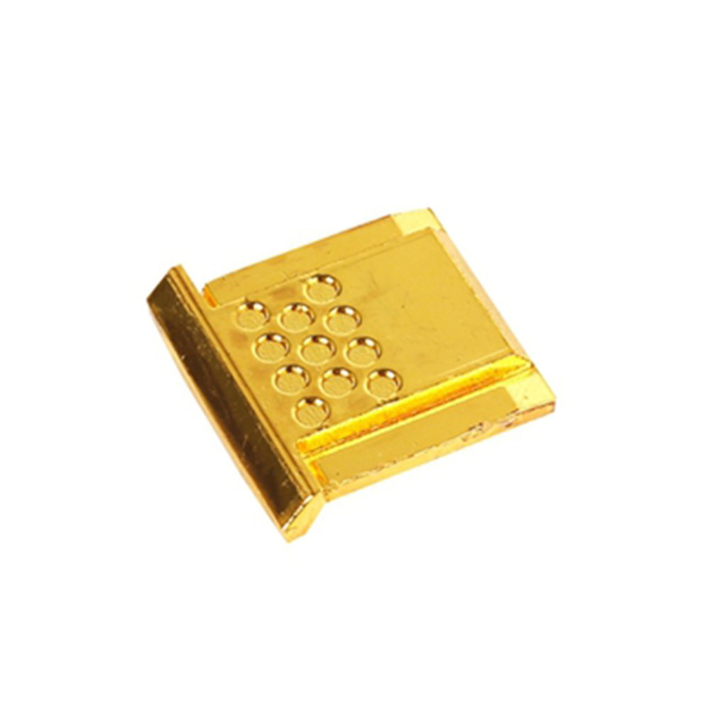 Hot Shoe Cover Cap Protector For Flash Mount Canon Nikon Olympus Pentax Gold