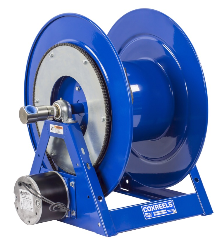 """COXREELS 1175-6-150-H Hydraulic Motor Hose Reel 1"""" x 150' no hose, 3000 PSI by Coxreels"""