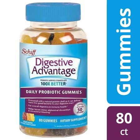 Digestive Advantage Daily Probiotic Gummies, 80 count