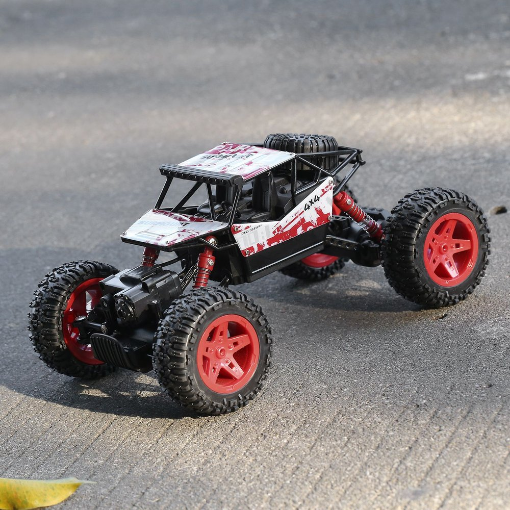 Electric Rock Crawler RC Car Suitable For 1-18 Scale Off-Road Vehicle Toys