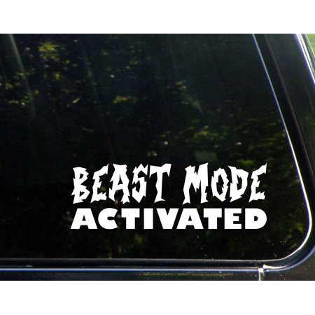 Beast Mode Activated- 8-3/4