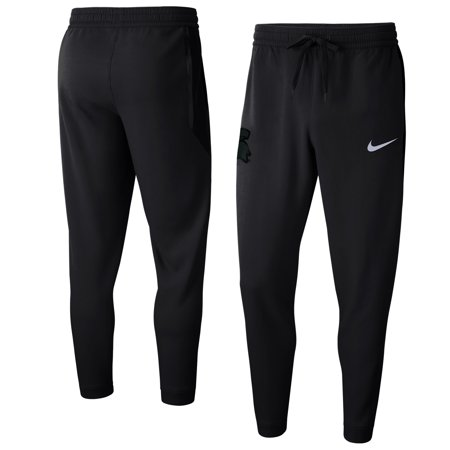Michigan State Spartans Nike Basketball Showtime Pants - Anthracite
