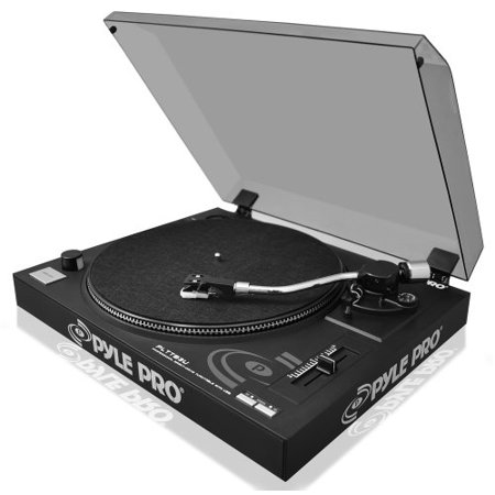 PYLE AUDIO PYLTTB3UM Belt-Drive USB Turntable with Digital Recording (Best Pyle Home Audios)