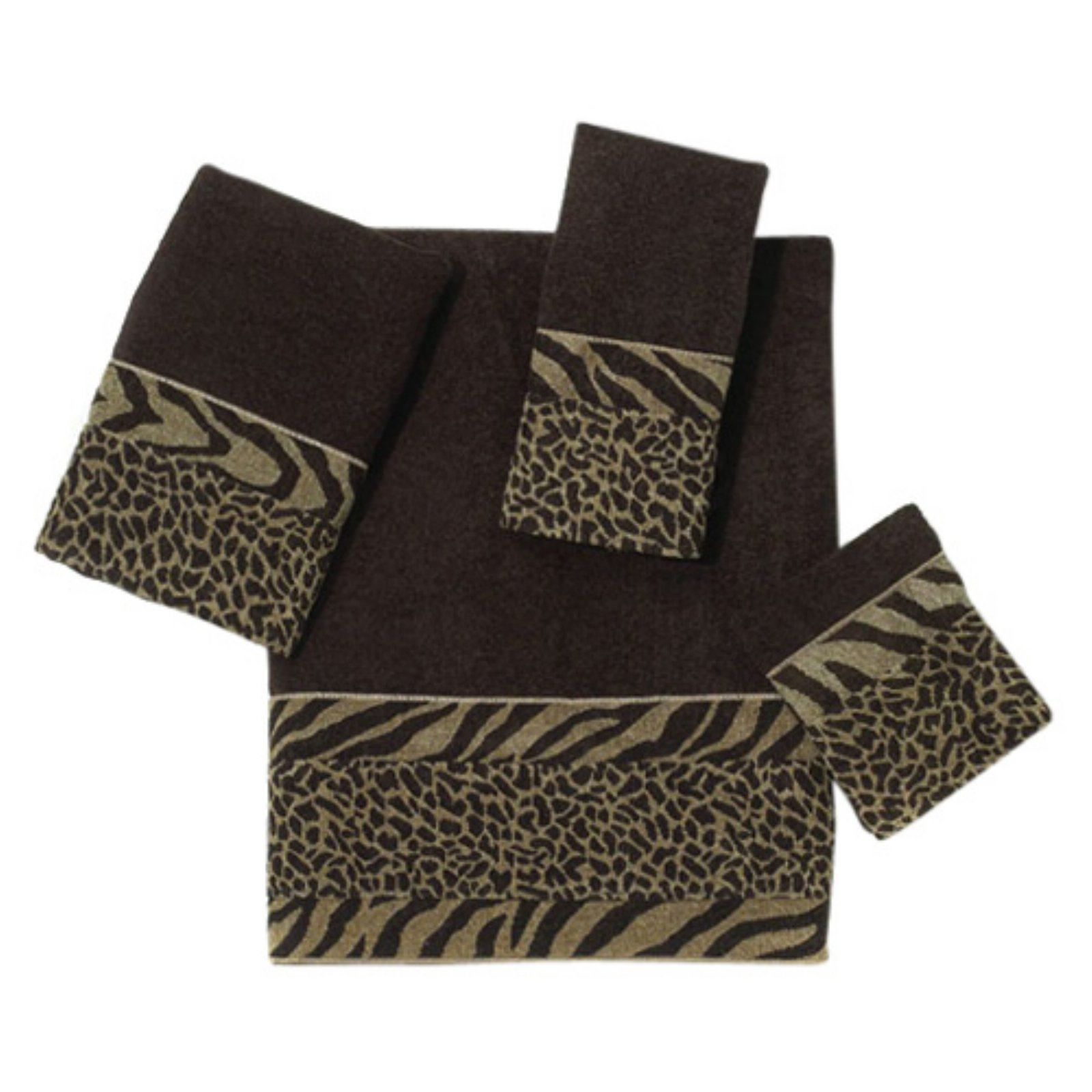 Avanti Cheshire 100% Cotton Java 4 Piece Towel Set