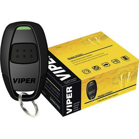 Refurbished Viper 4115V One Button Remote Car Starter 4115 W  One Remote Transmitter 4105V C
