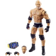 WWE Wrestlemania Goldberg Action Figure with Interchangeable Accessories