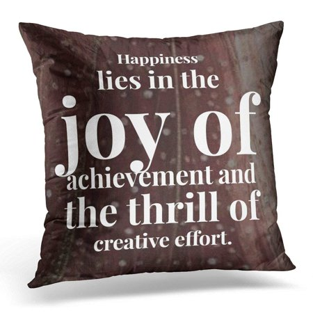EREHome Uplifting Success Quote for Inspiration Inspirational Pillow Case Pillow Cover 20x20 inch - image 1 of 1