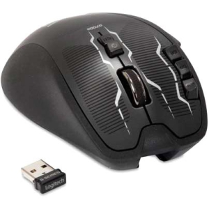 Logitech G700s Rechargeable Gaming Mouse - Cable/Wireless - USB - 8200 dpi - Computer - Scroll Wheel - 13 Button(s)