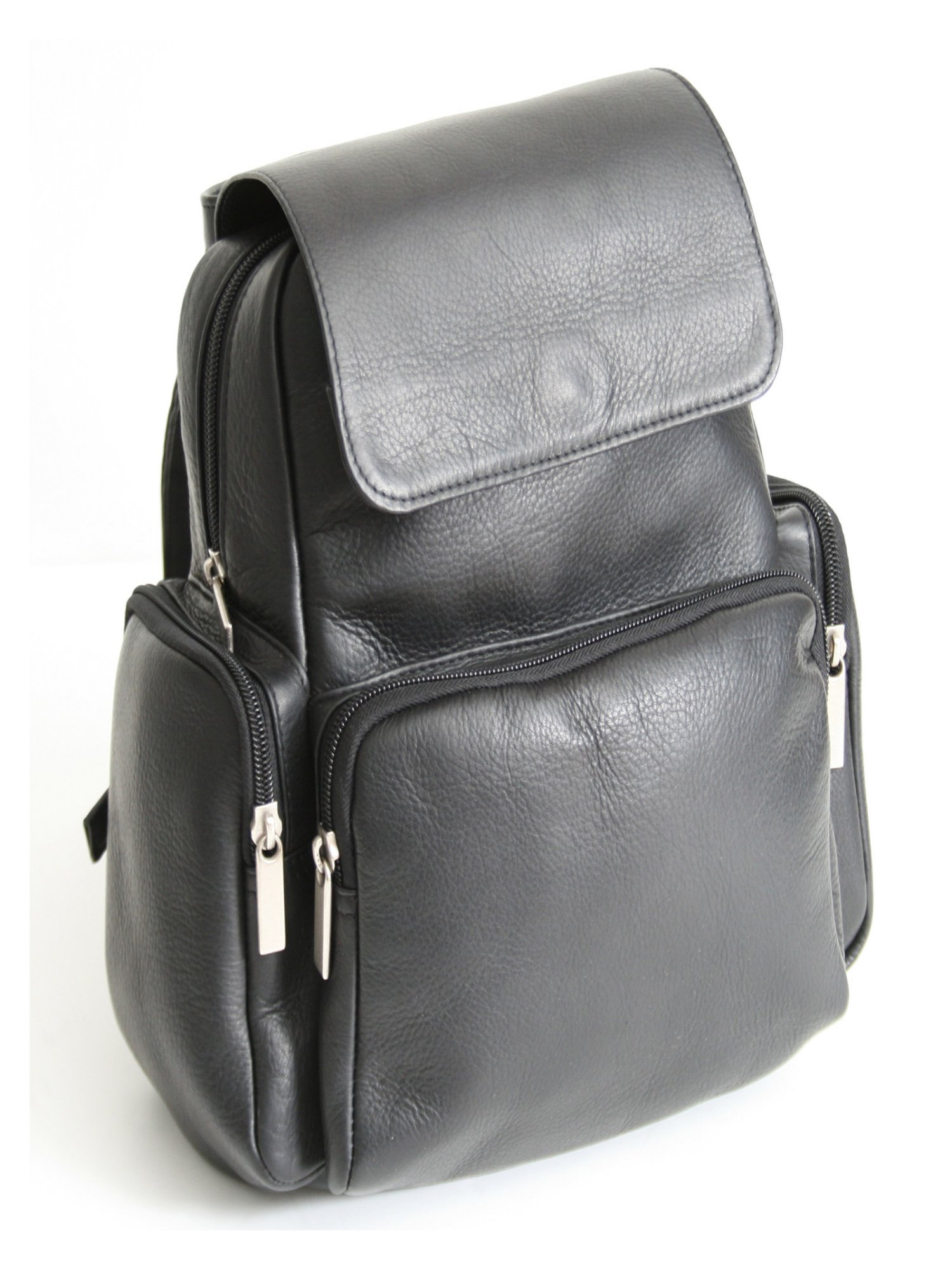 Royce Leather Colombian Vaquetta Leather Knapsack Backpack
