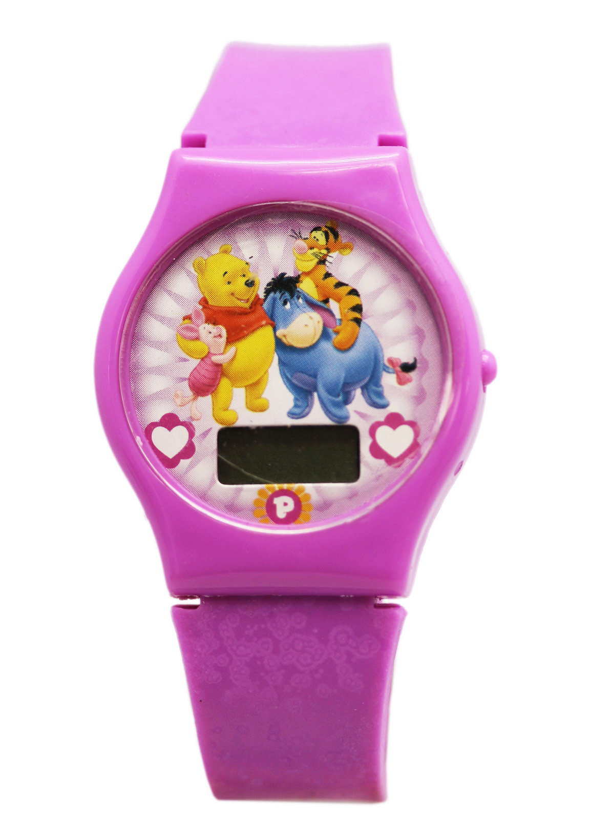 Disney's Winnie the Pooh Purple Colored Digital Screen Character Watch