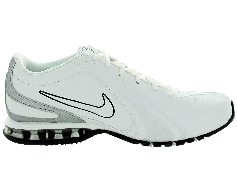 Nike Men's Reax Tr III Sl White/Metallic Silver/Black Training Shoe