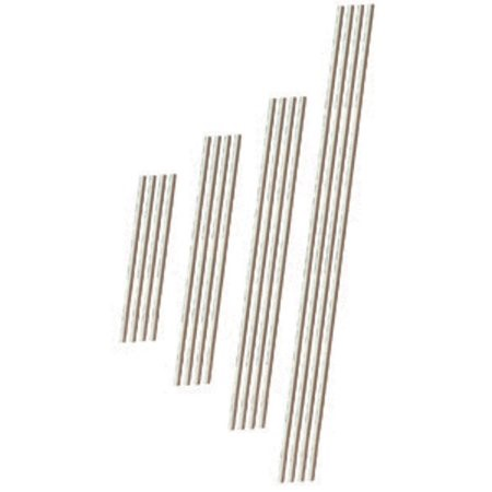(4 Pack) Wilton 4-Inch White Treat Sticks, 50-Count