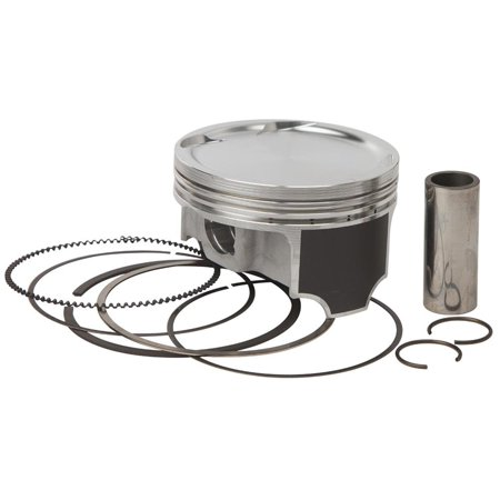 Vertex 23908A Forged Piston Kit - Standard Bore 84.95mm, 8.8:1 Compression - Forged Piston Replacement Rings