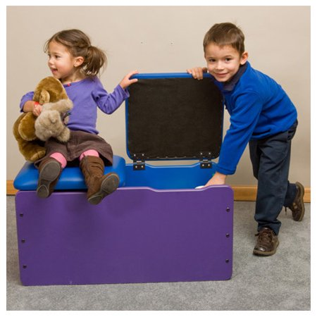 playscapes double toy box. Black Bedroom Furniture Sets. Home Design Ideas