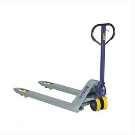 Wesco Industrial 272136 Standard Deluxe Pallet Truck 20. 5 x 36 (Cost To Lift A Truck 6 Inches)