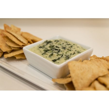 LAMINATED POSTER Artichoke Spinach Food Spinach And Artichoke Dip Poster Print 24 x 36 ()