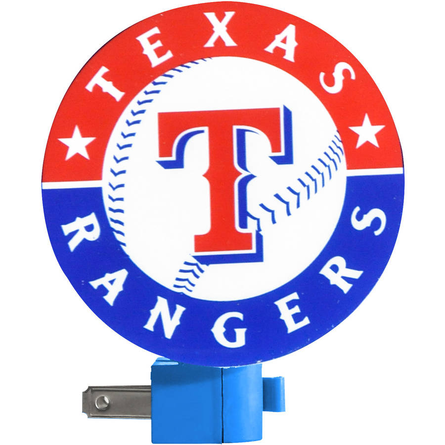 Texas Rangers Night Light