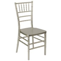 Flash Furniture HERCULES PREMIUM Series Champagne Resin Stacking Chiavari Chair