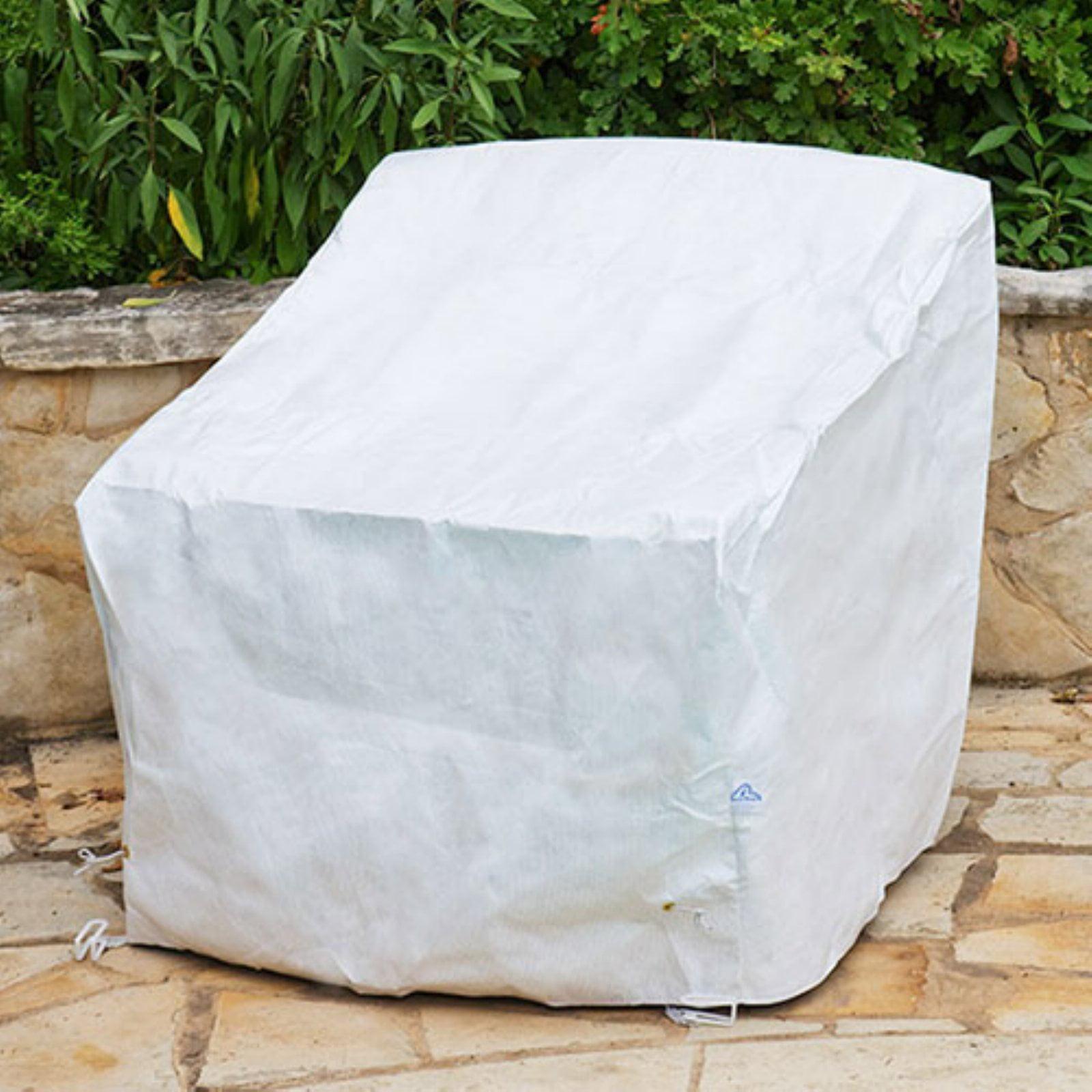 KoverRoos DuPont Tyvek White Deep Seating Chair Cover by KoverRoos