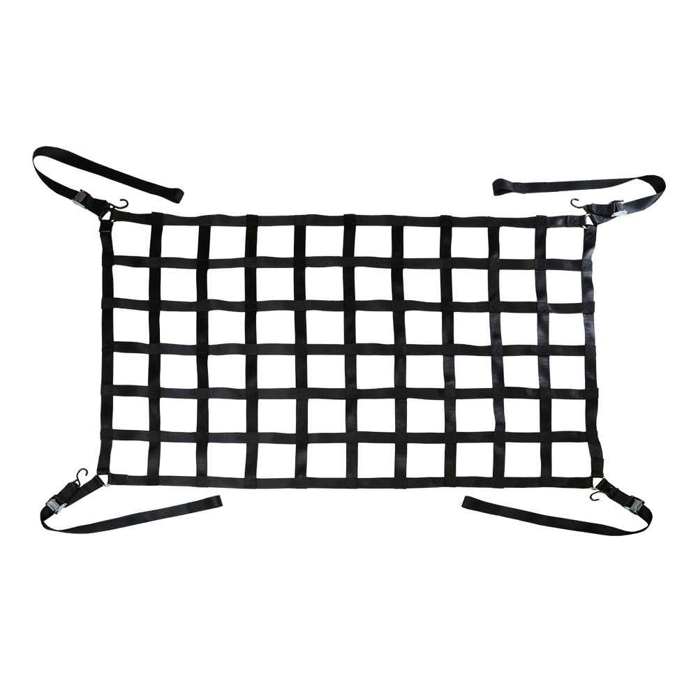 Truck Bed Cargo Nets with Cam Buckles and S Hooks