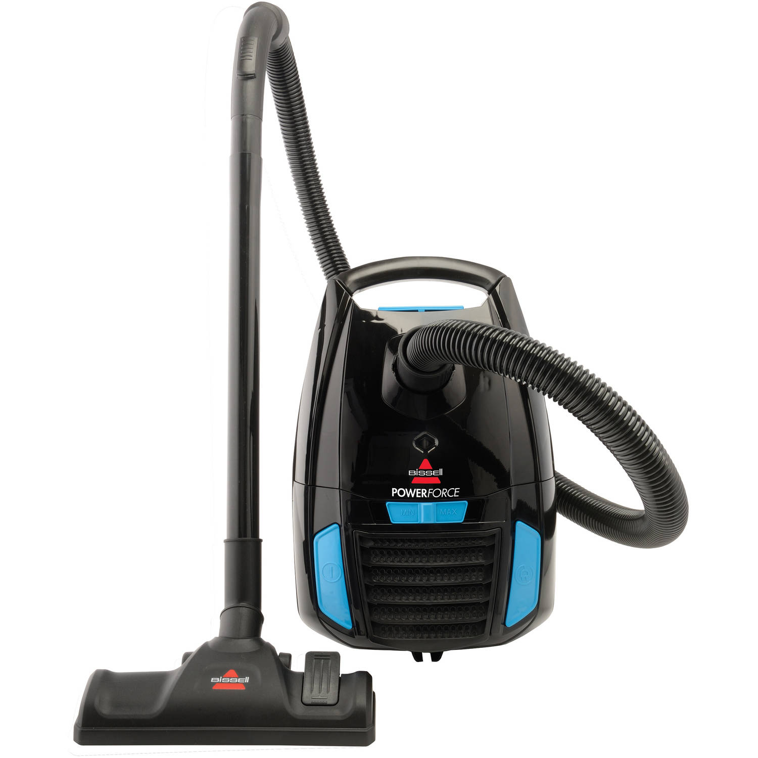 Amazing Bissell PowerForce Bagged Canister Vacuum