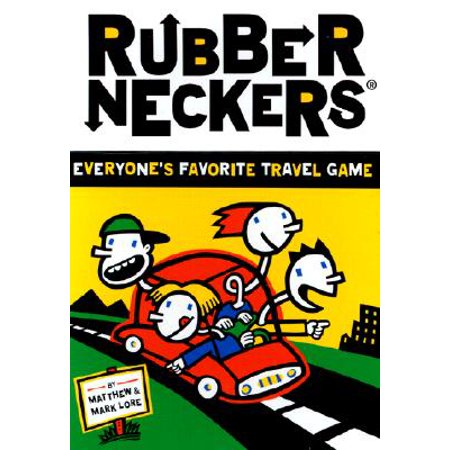 Rubberneckers: Everyone's Favorite Travel Game  A Fun and Entertaining Road Trip Game for Kids, Great for Ages 8+ - Includes a Full Set of Travel-Ready Game Cards for 2+