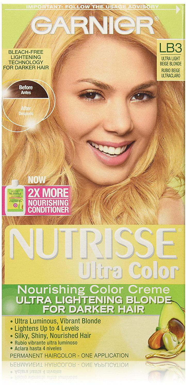 Nutrisse Ultra Color Nourishing Color Creme Lb3 Ultra Light Beige