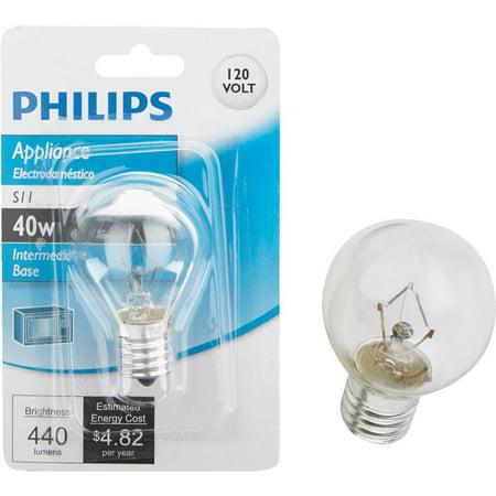 Philips Lighting Co 40w S11 Appliance Bulb 415414