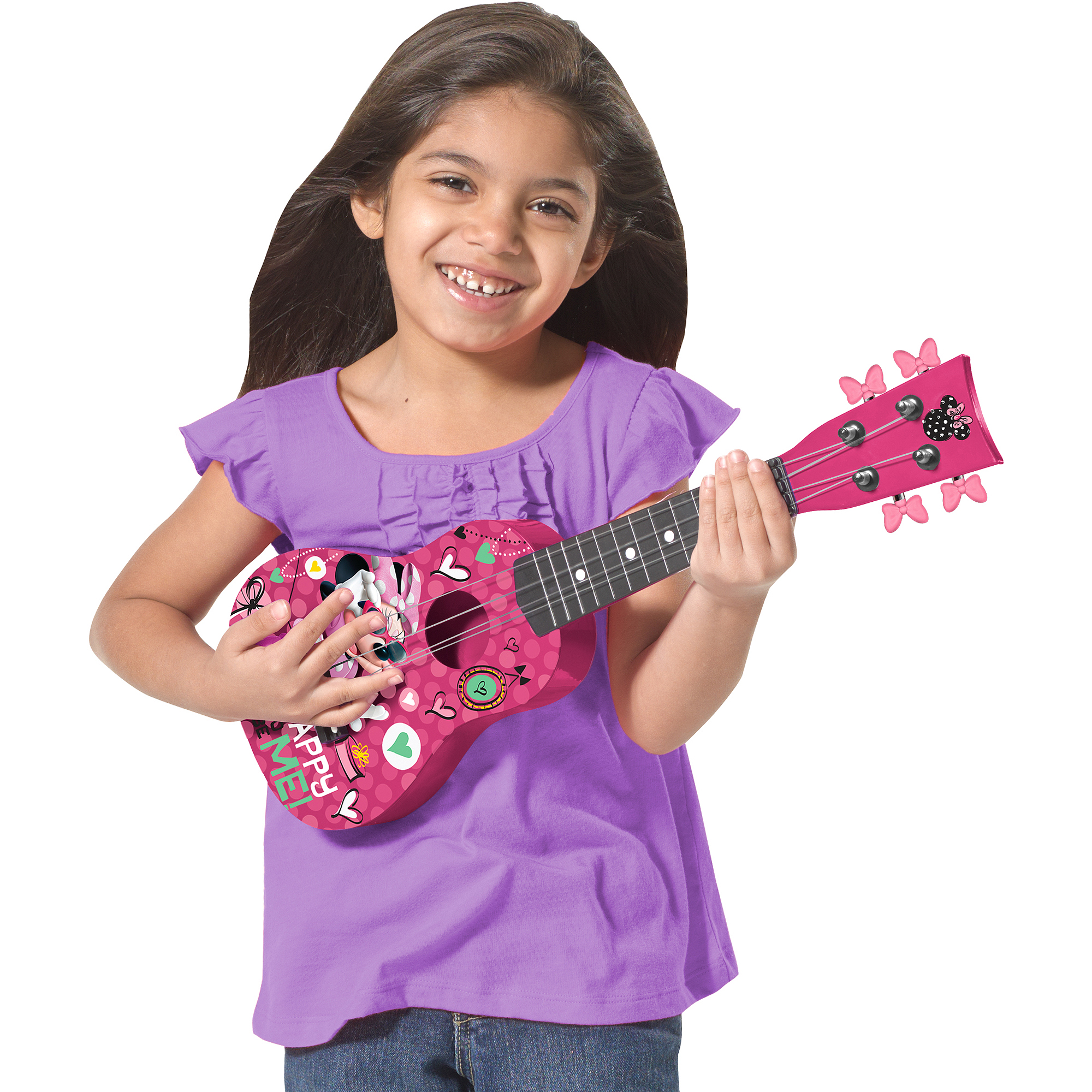 First Act Mini Guitar Minnie Mouse MO290, Pink