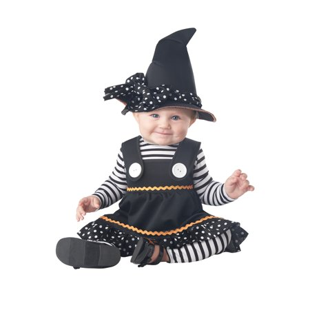 Crafty Lil Witch Baby Halloween Costume