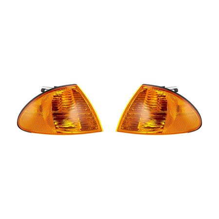 NEW TURN SIGNAL LIGHT SET OF 2 FITS BMW 320I 2001 323I 2000 BM2521104 63136902766 63-13-6-902-766 63-13-6-902-76563 13 6 902 766 BM2520104 63136902765 (Turn Signal Set)