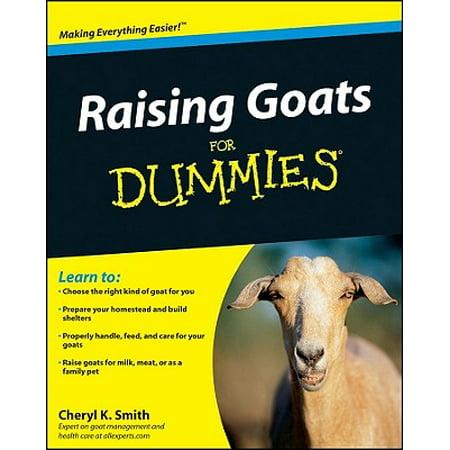Raising Goats for Dummies (Tan Vintage Goat)