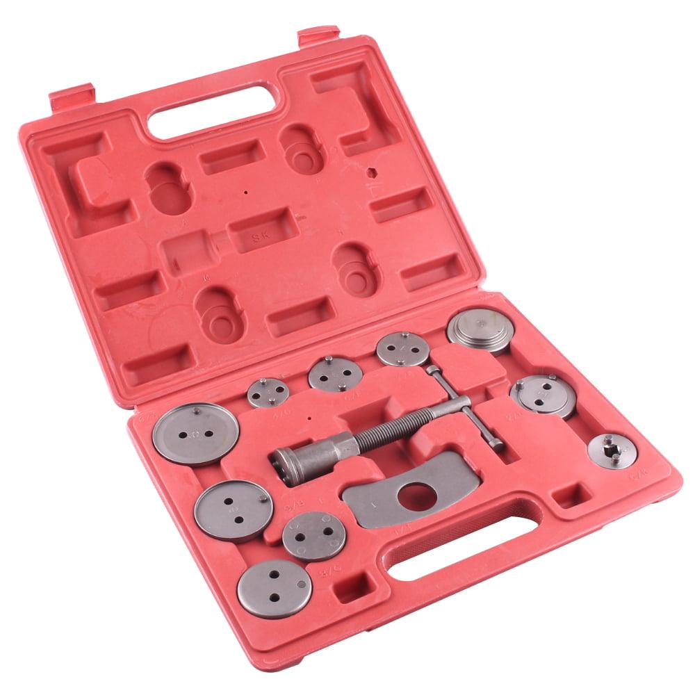 GZYF 1 Set/12 Pcs Disc Brake Caliper Wind Back Tools Kit for Piston Pad Disc Brake Replacement Car Truck Mechanics