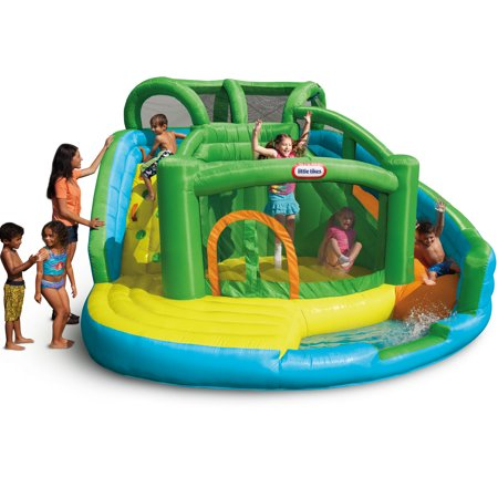 Little Tikes 2-in-1 Wet 'n Dry Waterslide and Bouncer