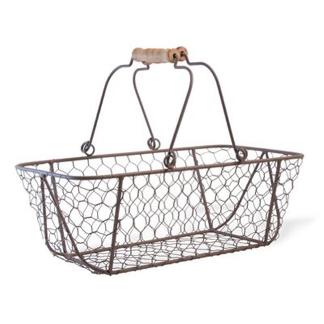 Boston International FAC18555 Shopper Chickenwire Basket