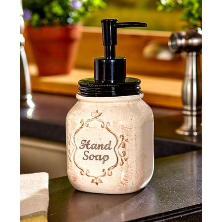 Mason Jar Kitchen Soap Dispenser