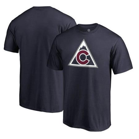 Colorado Avalanche Fanatics Branded Team Alternate T-Shirt - Navy