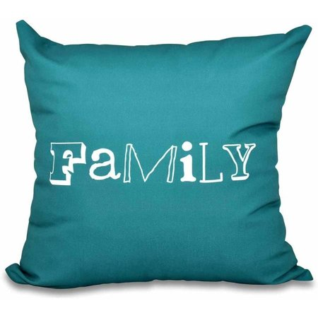 Teal Bed Pillow (Simply Daisy 16