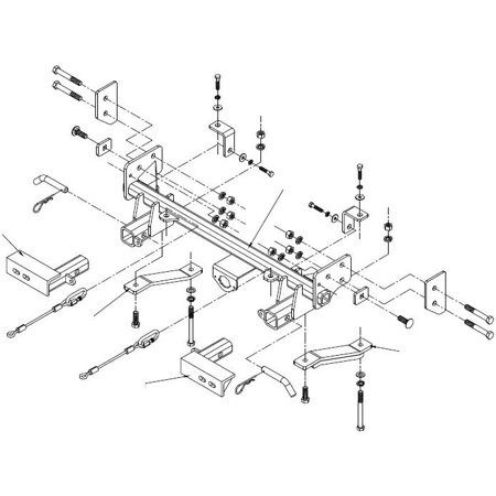 Roadmaster 1011-1 XL Tow Bar Base Plate Bracket for Suzuki