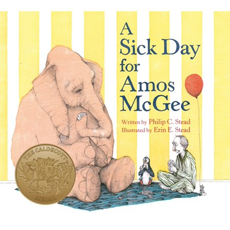 Sick Day for Amos Mcgee (Board Book) (A Sick Day For Amos Mcgee Illustrations)