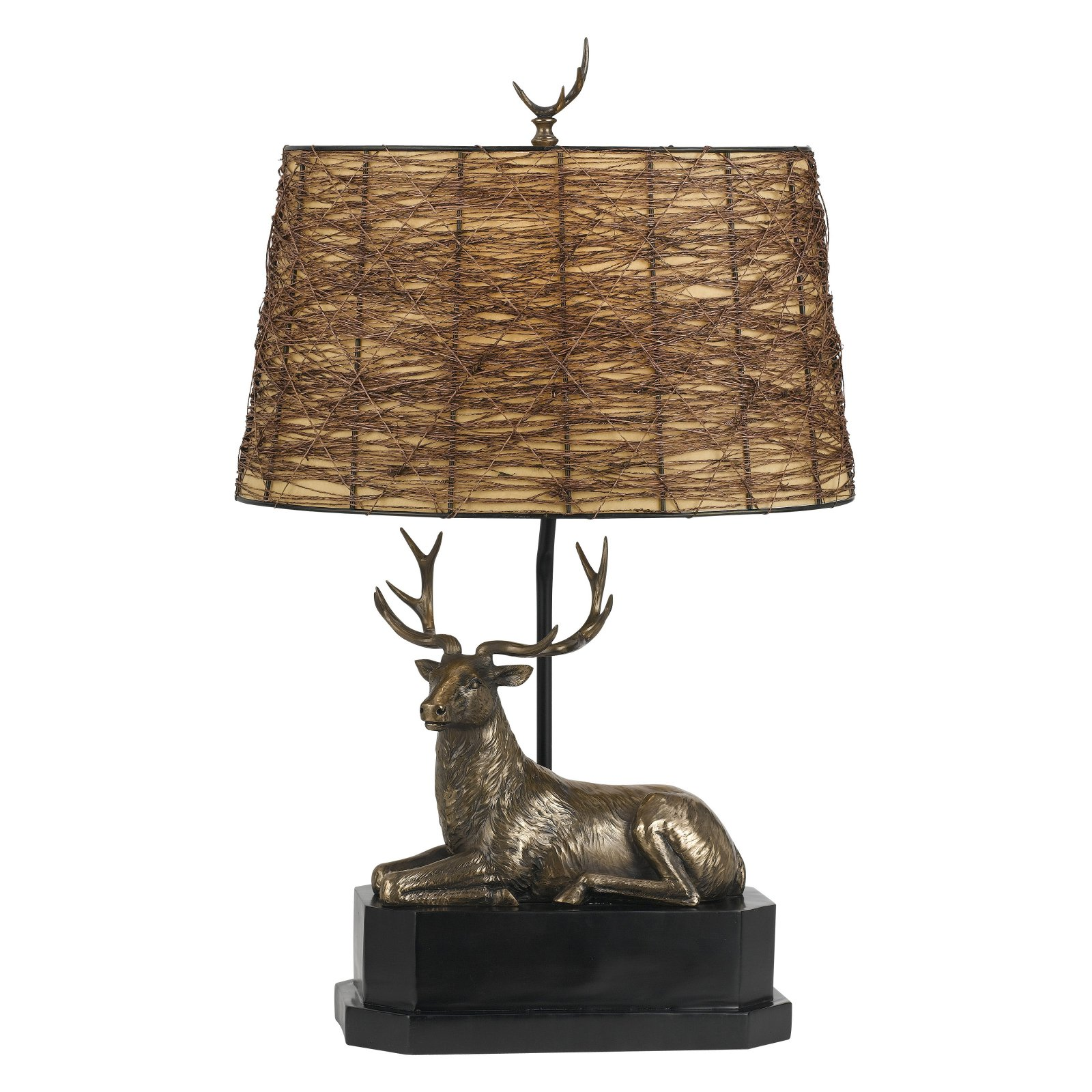 Cal Lighting Deer BO-2597 Table Lamp