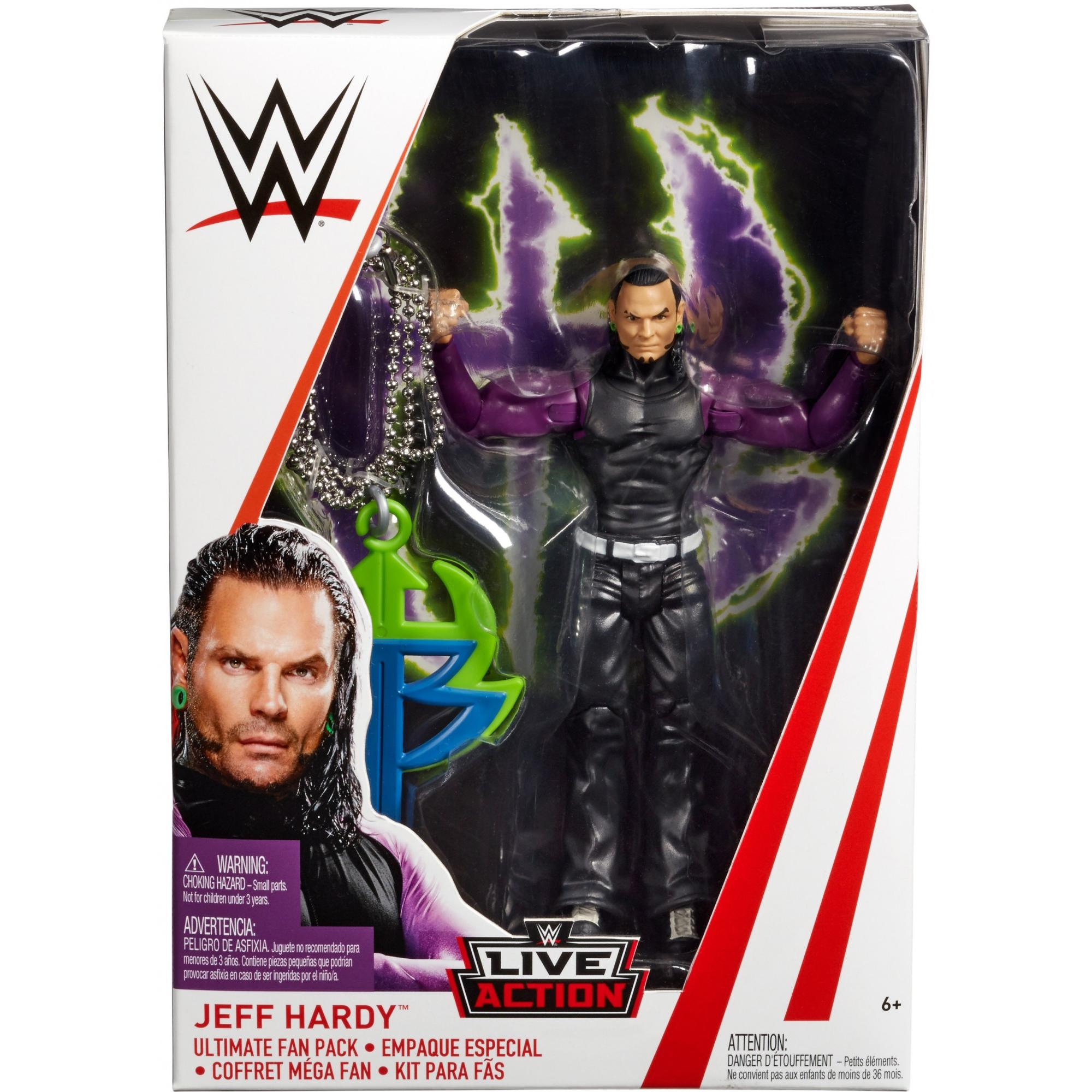 Wwe Jeff Hardy Ultimate Fan Pack Walmart