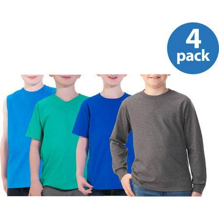 10% OFF - Fruit of the Loom Boys Long Sleeve T-Shirt and Jerzees Sweatpant Value (T-shirt Like Needs Pants)